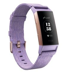 FITBIT ACTIVITY TRACKER CHARGE 3 SPECIAL EDITION LAVENDER WOVEN