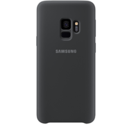 SAMSUNG GALAXY S9 SILICONE COVER,  black