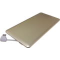 MYCANDY METAL POWER CARD 3000MAH PB01 6MM LIGHTNING CABLE GOLD