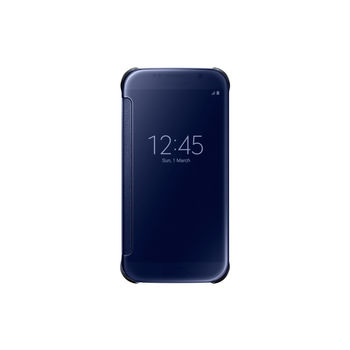 SAMSUNG GLAXY S6 CLEAR VIEW COVER,  black