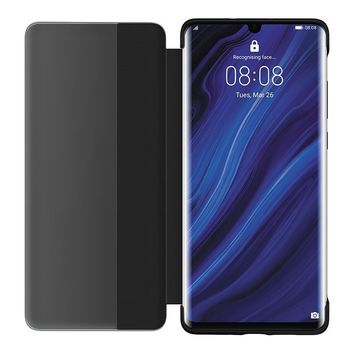 HUAWEI P30 PRO SMART VIEW FLIP COVER,  khaki