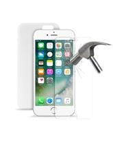 2 in 1 Puro TPU 0.3 Ultra Slim Cover+ Tempered Glass for iPhone 7 Transparent
