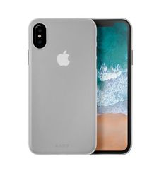 LAUT IPHONE X BACK CASE SLIMSKIN,  clear