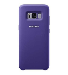 SAMSUNG GALAXY S8 PLUS SILICON COVER,  violet