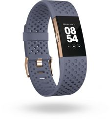 FITBIT SPORT BAND CHARGE 2 BLUE GREY ROSE GOLD SMALL