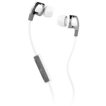 SKULLCANDY STEREO EARPHONE,  white