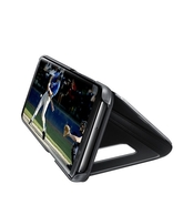 SAMSUNG GALAXY S8 CLEAR VIEW STANDING COVER,  black