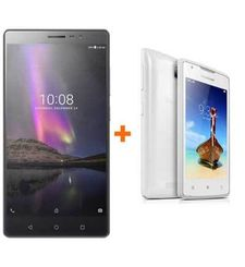LENOVO PHAB 2 32GB 4G DS ARABIC GUNMETAL GREY+ LENOVO A1000 8GB 3G DS ARABIC WHITE