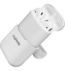 MYCANDY AIRPOD SILICONE CASES,  white