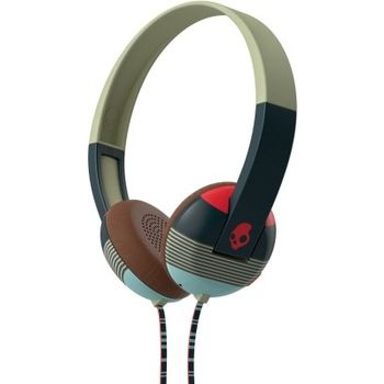 SKULLCANDY STEREO HEADPHONE GRIND,  red