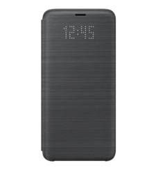 SAMSUNG GALAXY S9 PLUS LED VIEW COVER,  black