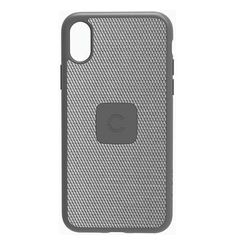 IPHONE X SLIM CASE WITH CARBON FIBRE,  silver