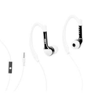 SBS IN EAR STEREO EARPHONES RUNWAY,  white