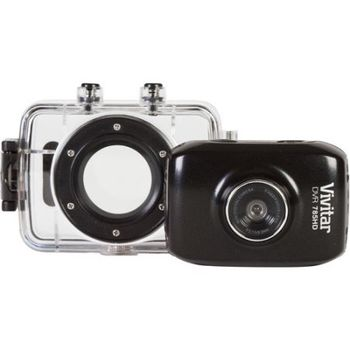 Vivitar Action Camera With Water And Shock Proof Case 785