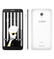 ALCATEL POP4 PLUS 5056D 5.5INCH 16GB 4G DUAL SIM,  white