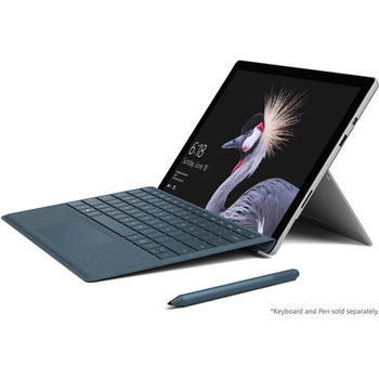MICROSOFT SURFACE PRO 256GB SILVER I7 8GB INTEL IRIS PLUS GRAPHICS 640 12.3  INCH