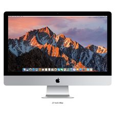 "APPLE IMAC MNE92 I5 3.4 QUAD CORE 8GB 1TB FD RADEON PRO 570 WITH 4GB 5K RETINA P3 27"" - ENGLISH, SILVER"