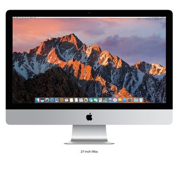 APPLE IMAC MNE92 I5 3.4 QUAD CORE 8GB 1TB FD RADEON PRO 570 WITH 4GB 5K RETINA P3 27  - ENGLISH, SILVER