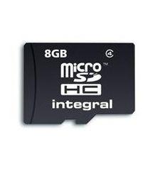 إنتيجرال مايكرو إس دي 8 جيجابايت بدون وصلة