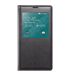 SAMSUNG GALAXY S5 S VIEW COVER,  black