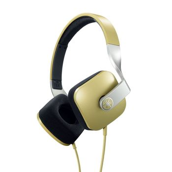 YAMAHA ON EAR STEREO HEADSET 46 OHMS,  gold
