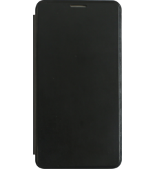 MYCANDY GALAXY A710 FLIP COVER,  black