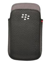 Blackberry 9720 Leather Pocket Rim,  black