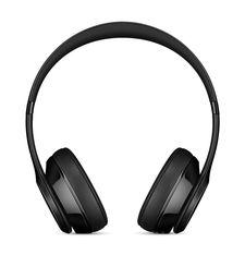 BEATS SOLO3 WIRELESS ON-EAR HEADPHONES,  gloss black