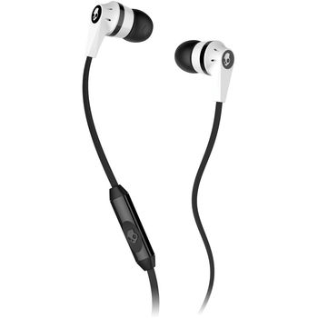 SKULLCANDY STEREO EARPHONE,  white
