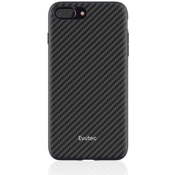 EVUTEC IPHONE 7 PLUS /IPHONE 8 PLUS BACK CASE,  black