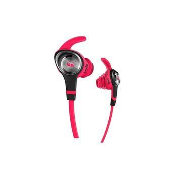 MONSTER ISPORT INTENSITY IN-EAR HEADSET,  neon pink