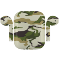APPLE AIRPODS CAMOUFLAGE SPECIAL EDITION,  army, matte