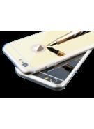MYCANDY IPHONE 7 / IPHONE 8 BACK CASE MOONRAY MIRROR BLACK
