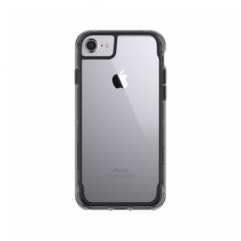 GRIFFIN IPHONE 7 BACK CASE REVEAL BLACK/CLEAR