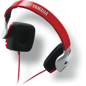 YAMAHA ON EAR STEREO HEADSET 46OHMS,  red