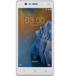 NOKIA 3 16GB DUAL SIM,  silver white