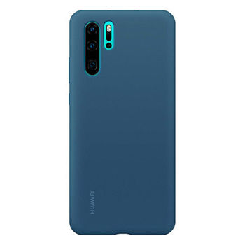 HUAWEI P30 PRO BACK CASE SILICONE BLUE