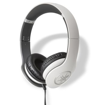 YAMAHA ON EAR STEREO HEADSET 53 OHMS,  white