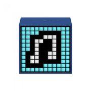 DIVOOM BLUETOOTH SPEAKER TIMEBOX MINI LIFESTYLE,  blue