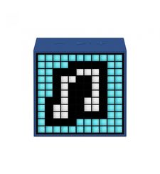 DIVOOM BLUETOOTH SPEAKER TIMEBOX MINI LIFESTYLE,  blue