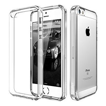 MYCANDY IPHONE SE PC BACK CASE CLEAR
