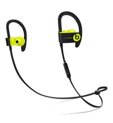 BEATS POWERBEATS3 INEAR WIRELESS HEADPHONES,  shock yellow