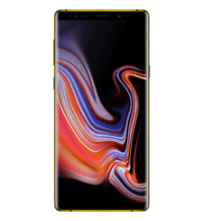 SWITCH GOLD ACCENT SAMSUNG NOTE 9 BLACK, 128gb