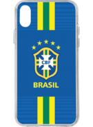 FIFA WORLD CUP CASES FOR IPHONE X,  brazil blue