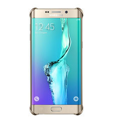SAMSUNG GALAXY S6 EDGE PLUS CLEAR BACK,  gold
