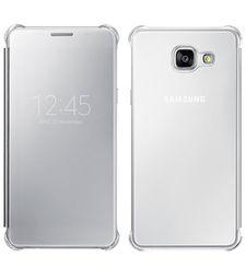SAMSUNG GALAXY A710 CLEAR CASE VIEW,  silver