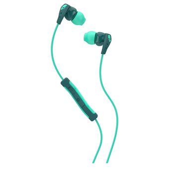 SKULLCANDY STEREO EARPHONE,  green
