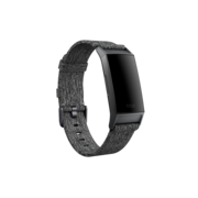 FITBIT CHARGE 3 SPORT BAND LARGE WOVEN CHARCOAL