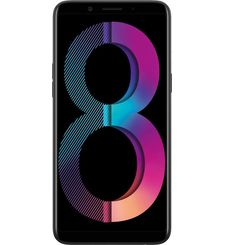 أوبو A83 سعة 32 جيجابايت الجيل الرابع (4G) ثنائي الشريحة,  أسود
