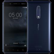 NOKIA 5 16GB 4G LTE DUAL SIM,  tempered blue